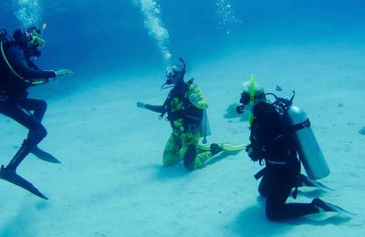 Learning Scuba Dive