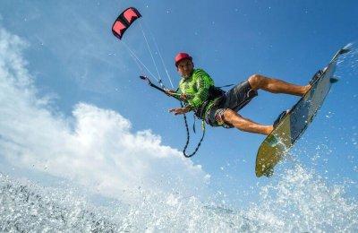 Safari kitesurf